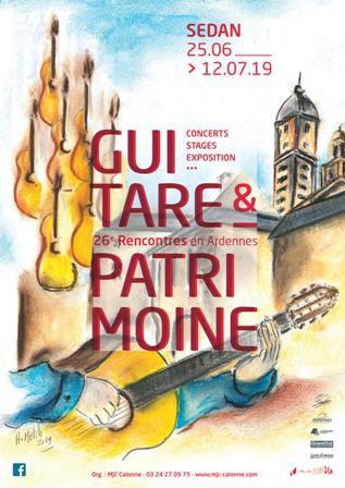 """26èmes Rencontres """"Guitare et Patrimoine en Ardennes"""""""