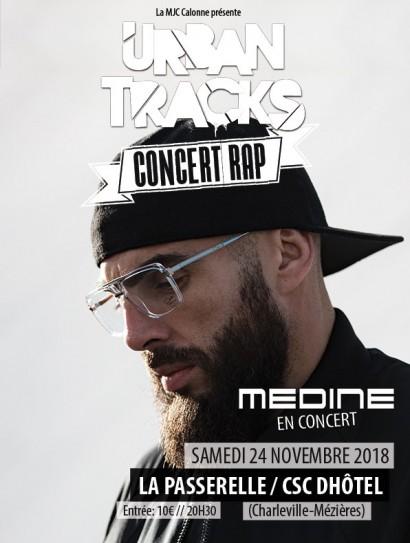 Urban Tracks - Médine en concert